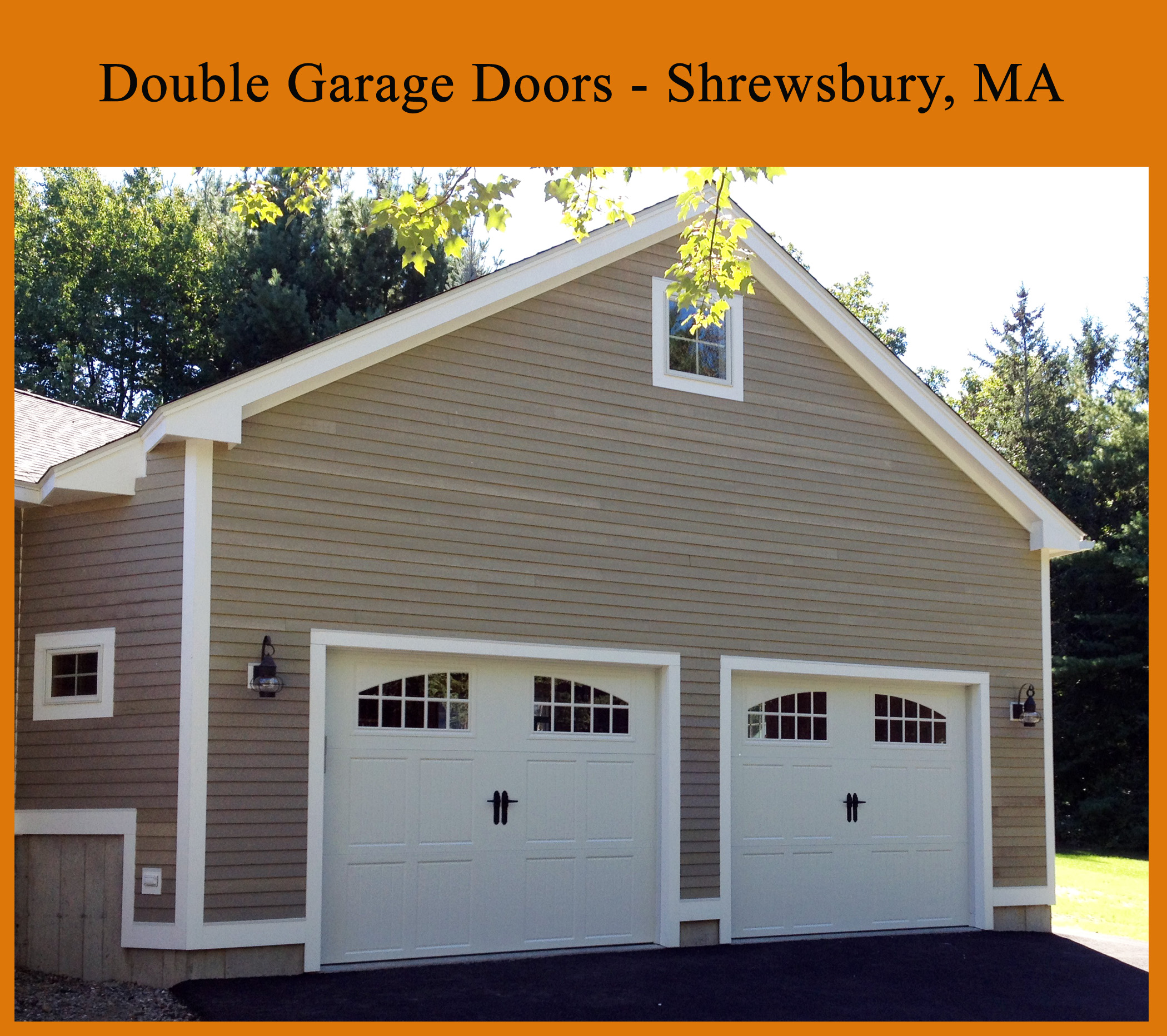 New Garage Doors And Garage Door Openers Shrewsbury Ma
