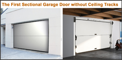 Finally A Garage Door That Allows The Homeowner To Make The Most Out Of  Their Space. Introducing The First Sectional Garage Door Without Ceiling  Tracks In A ...
